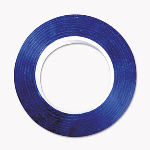 Cosco Art Tape, Blue, Gloss Finish, 1/4 X 324 , 1 Each COS098076  - $13.21
