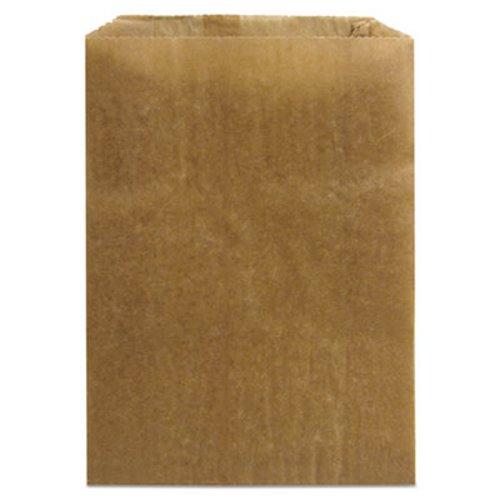 Kraft Waxed Sanitary Napkin Receptacle Paper Liners, 500 Bags (HOS KL)